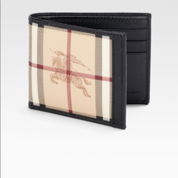 favorable price special for shoe top-rated original Gently used men's Burberry wallet